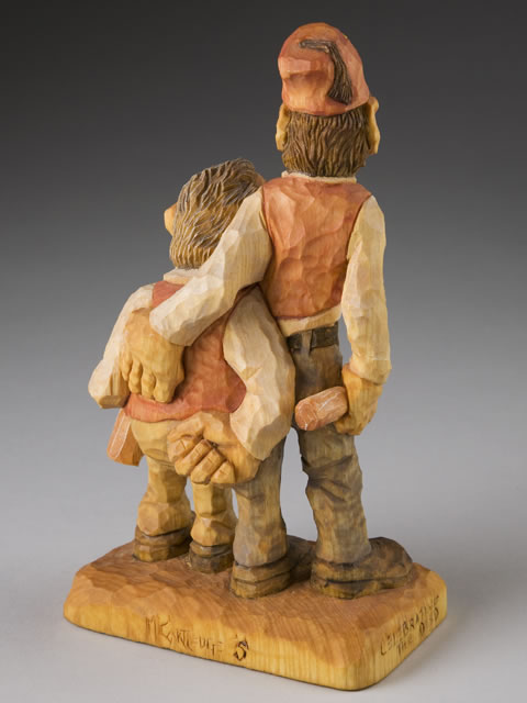 Mitchell Cartledge Wood Carving